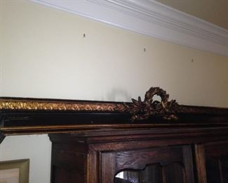 Long crown molding piece can be used in a variety of ways.
