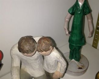 Physician statues