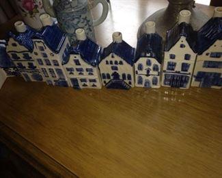 Miniature Dutch houses