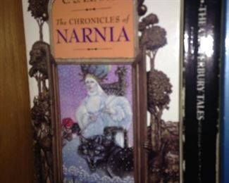 """The Chronicles of Narnia"" by C.S. Lewis"