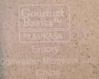 """Gourmet Basics """"Emory"""" dishes"""