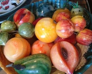 Colorful onyx fruit