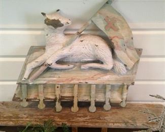 Shabby Chic lamb decor