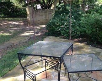 More patio tables