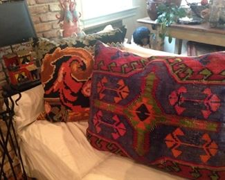 More decorative pillows