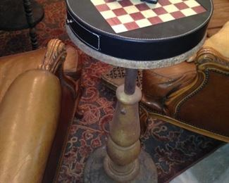 Checker board table