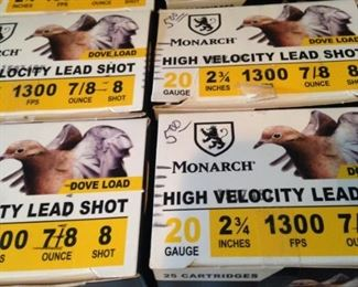 20 gauge lead shot