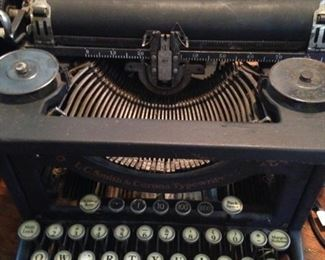 Vintage L.C. Smith typewriter