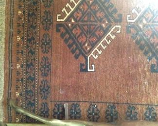 One of many  rugs - 3 feet 6 inches x 4 feet 2 inches