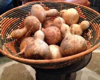 More gourds in a fabulous basket