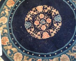 3 foot round rug