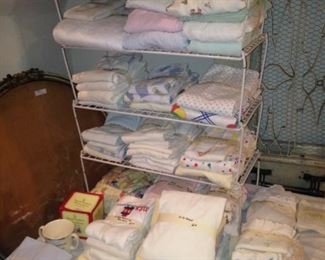 Baby blankets and sheets