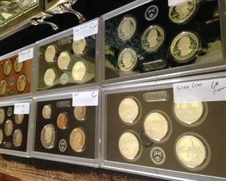 Cased coins