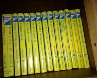 Another set of Nancy Drew books