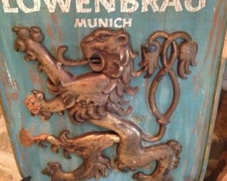 Lowenbrau (Munich Germany) bar sign