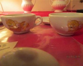 asstd pcs. childs tea set.