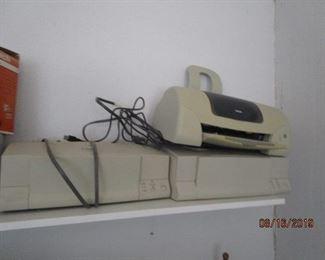 old computer/fax machine