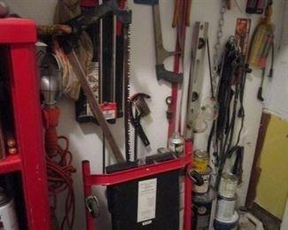 hand and yard tools