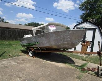 Another boat and trailer