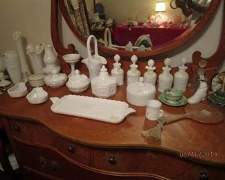 Westmoreland and Imperial Milk Glass