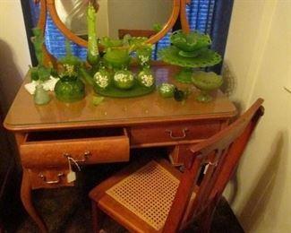 Bird's eye maple Dressing table