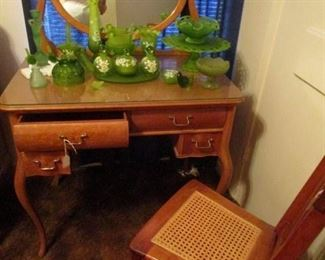 Beautiful Bird's eye maple dressing table