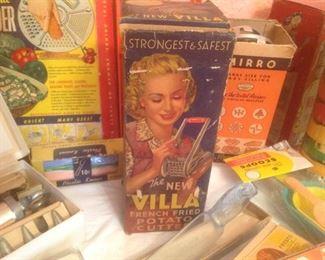 Close up of the Villa box....