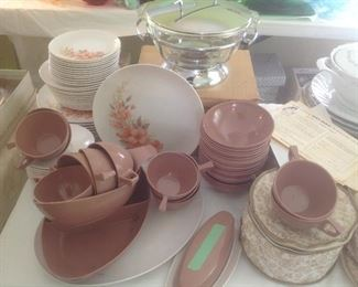 Set of twelve Melmac Miramar dishes....presale $45.