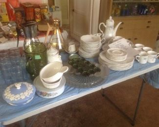 More vintage dishes