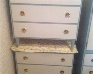 Matching three drawer chests...presale $65 each