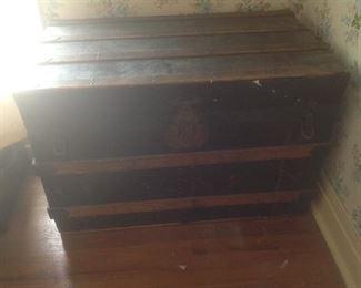 Vintage trunk.....presale $95