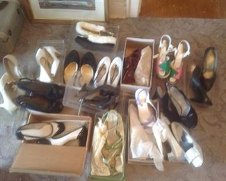 Vintage shoes.....mostly size 7