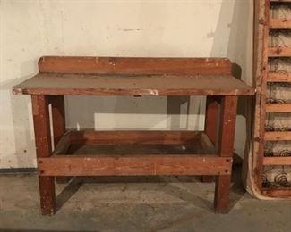 *PRESALE ITEM!* Fabulous sturdy workbench. $75
