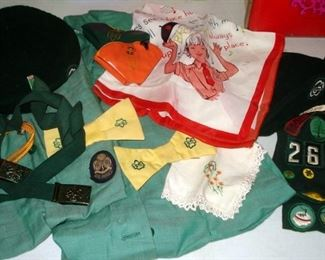 Vintage Girl Scout Collectibles