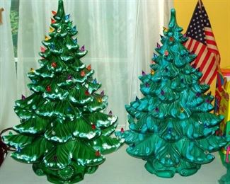 LARGE Ceramic Christmas Trees