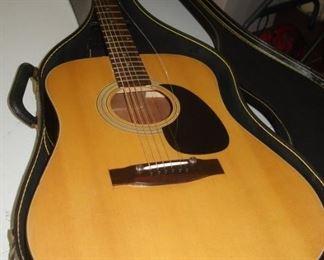 Vintage Ventura Guitar & Case