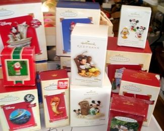 Hallmark Disney Ornaments