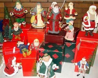 Clothtiques Santas