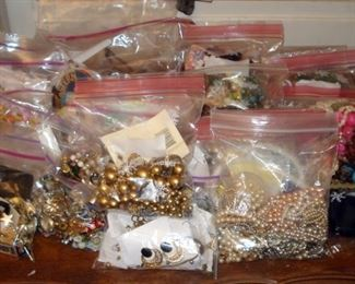 Loads of Costume Jewelry