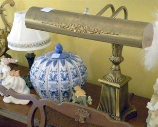 Vintage Piano Lamp