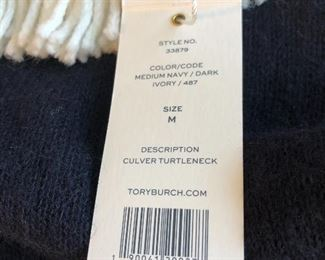 New Tory Burch sweaters Medium, retail $350. $125