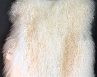 New Belle Fare fur Medium vest, retail $650.  $200
