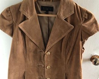 New Suede IMAN, Medium jacket. You get the jacket and a $25 Nordstrom gift card for $40! What a deal!