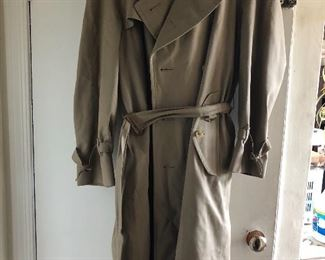 Ladies large Burberry's Trench coat. $110, comes with a $50 Nordstrom gift card!