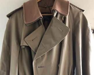 Ladies large Burberry's Trench coat