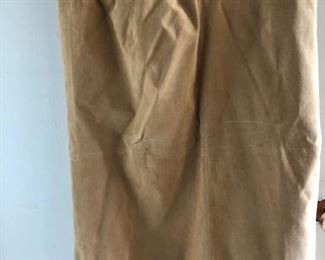 New suede skirt size 12 by Terry Lewis $35, comes with a $25 Nordstrom Gift Card