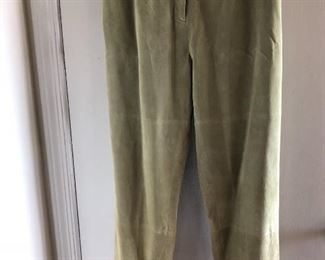 New suede pants size 12 by Terry Lewis $35, comes with a $25 Nordstrom Gift Card