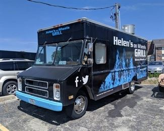 1987 Food Truck 350 Chevy Motor