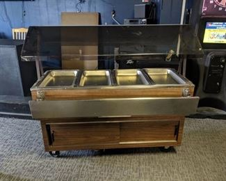 Duke 4 Well Electric Waterless Steam Table