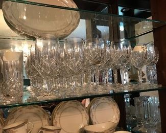 Lots of lovely Lady Anne crystal  by Gorham
